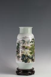 【徐俊作品】150件粉彩山水瓶
