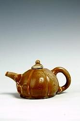 【熊国辉作品】陶艺壶-南瓜壶