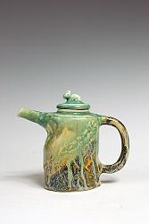 【熊国辉作品】陶艺壶-高壶