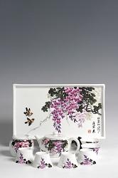 【玉柏茶具】比翼双飞茶具