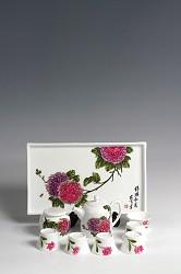 【玉柏茶具】锦绣和春茶具