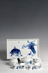 【玉柏茶具】牛童方盘茶具