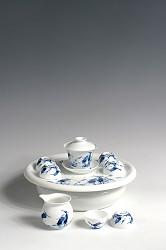 【玉柏茶具】小号白鹭茶具