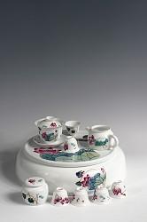 【玉柏茶具】大号荷塘情趣茶具