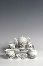 【玉柏茶具】小号雪景茶具