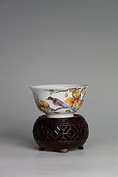 【珐琅彩】秋叶含香杯
