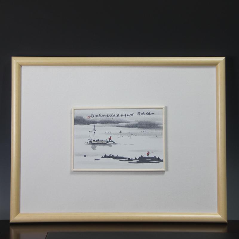 【熊国辉manbetx手机登录注册】一帆风顺瓷板