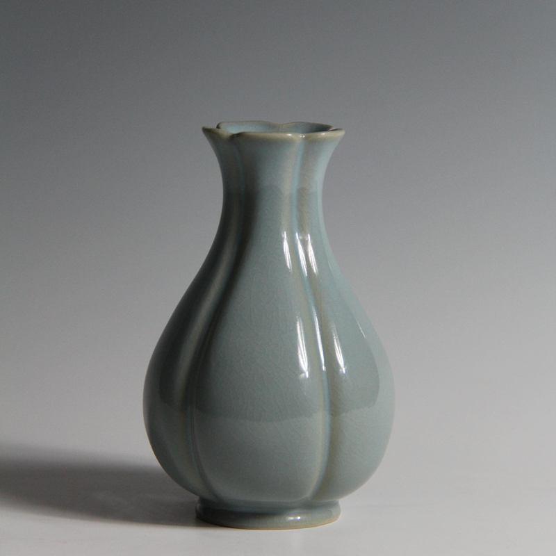 【朱文立作品】葵口瓶