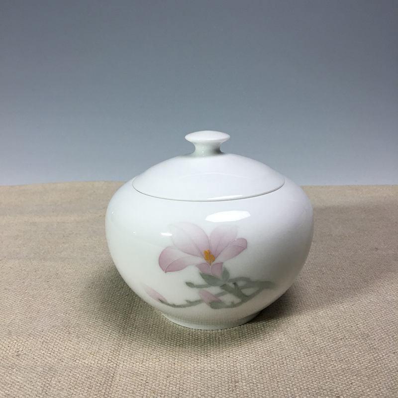 【扬龙窑作品】玉兰茶罐