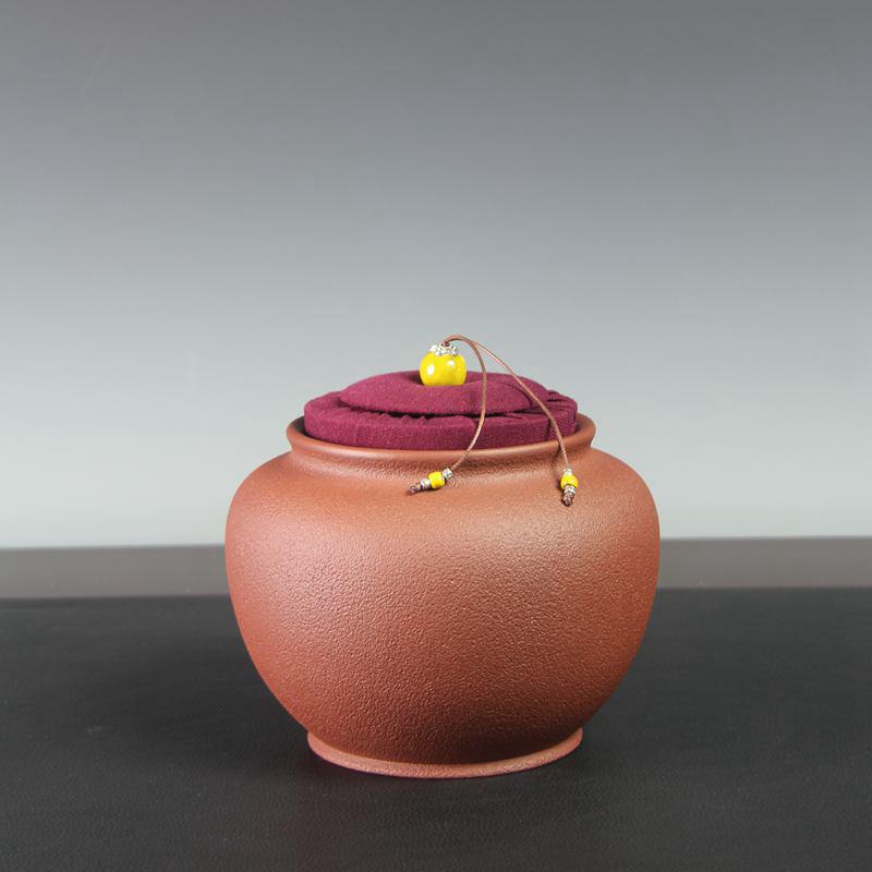 【汤华刚作品】福德茶罐