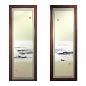"""【熊国辉作品】珍珠釉""""韵江南""""瓷板"""