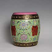 【高仿作品】150件粉彩瓷凳