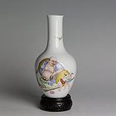 【高仿作品】20件罗汉天球瓶