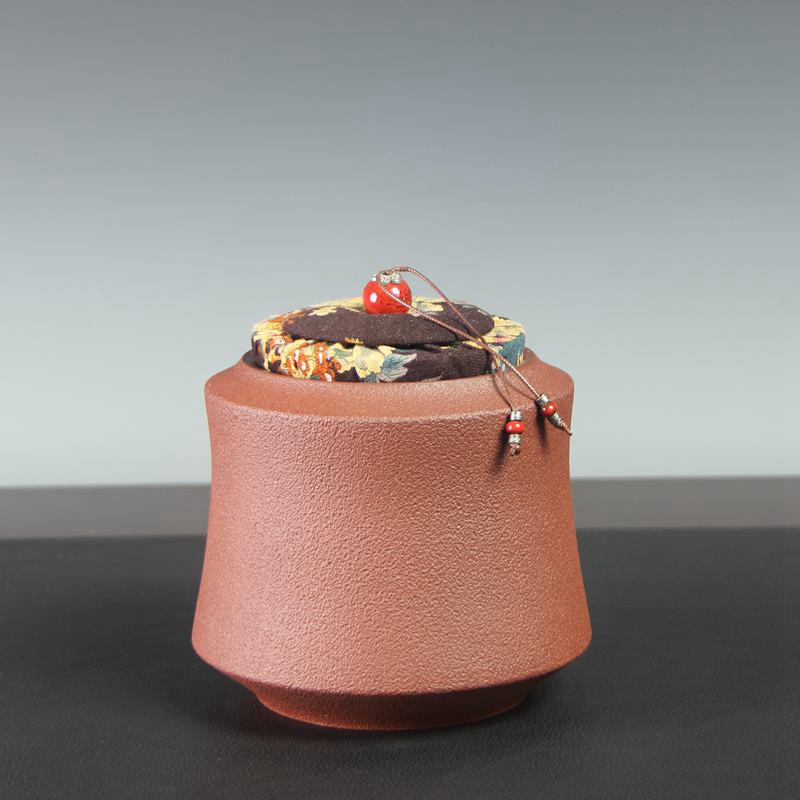 【汤华刚作品】福悦茶罐