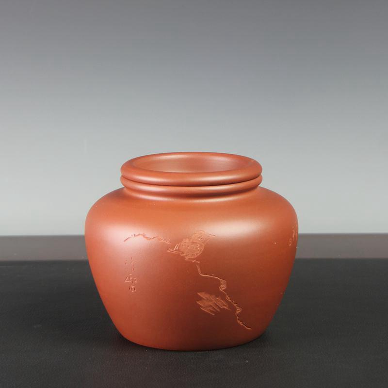 【汤华刚作品】甘侯茶罐