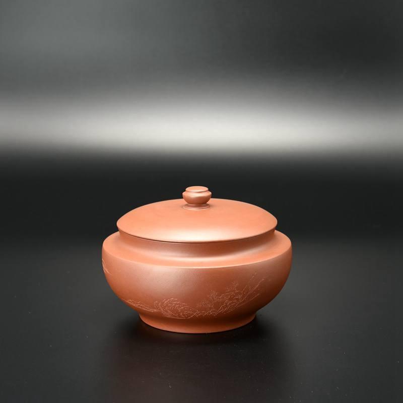 【汤华刚作品】汉云茶罐