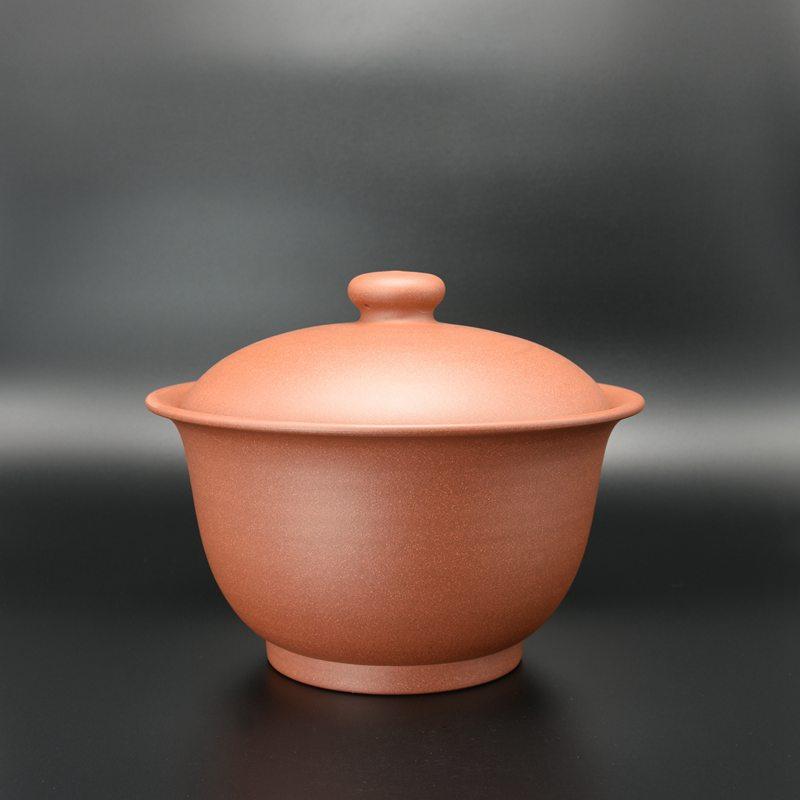 【王卫良作品】碗型茶罐