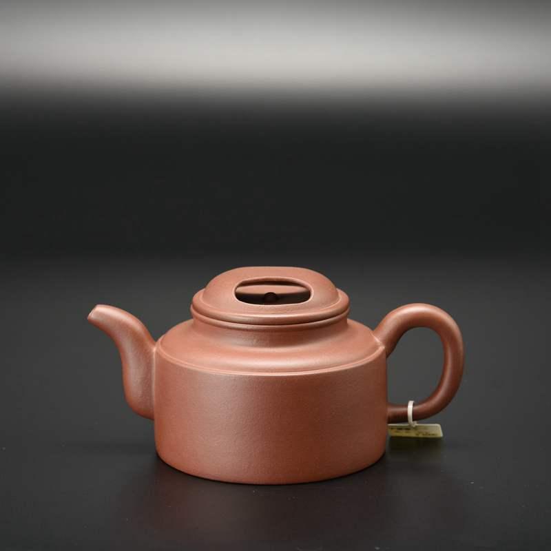 【鲁瑛紫砂作品】牛盖壶