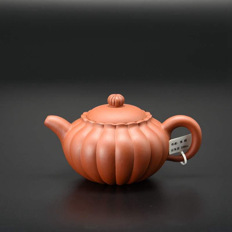 【张�D作品】菊蕾壶