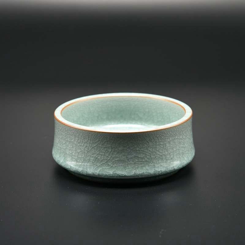【叶小春作品】冰裂纹竹节洗