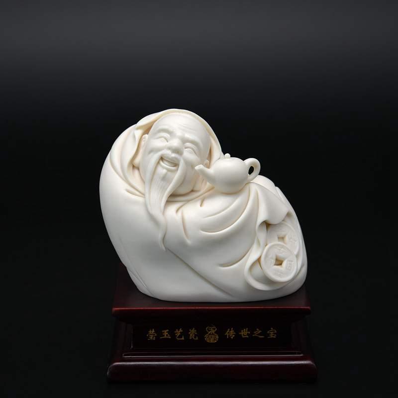 【苏清河作品】4寸茶圣陆羽